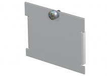 7407047 - OBO BETTERMANN Заглушка для монтажной рамки MTU 62x66x4,5 мм (сталь,черный) (MTU B).