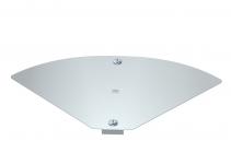 6040760 - OBO BETTERMANN Крышка для угловой секции кабельного листового лотка Magic 104x201 (DFBMV 100 FS).
