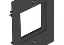 7408148 - OBO BETTERMANN Крышка для напольного бокса Telitank на 1 Modul45 71x88 мм (полиамид,черный) (T12L P15S 9011).