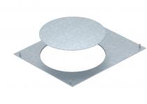 7425122 - OBO BETTERMANN Крышка канала OKA с монтажным отверстием GESR9 400x500x4 мм (сталь) (OKA D 500 R9).