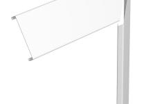 6287070 - OBO BETTERMANN Крышка плоского угла кабельного канала GEK 80x300 мм (сталь,белый) (FUOP3RW).