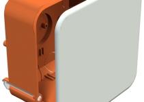 2003449 - OBO BETTERMANN Распределительная коробка для скрытого монтажа в полых стенах 105x105x50 (HV 100 KD).