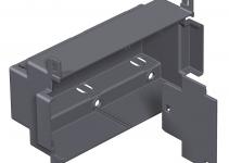 7408296 - OBO BETTERMANN Монтажная коробка для напольного бокса Telitank T4L (полиамид,черный) (T4L EG).