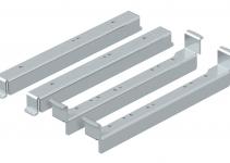 7410552 - OBO BETTERMANN Нивелирующий угол для монтажа круглых кассетных рамок в UZD250-3 (сталь) (NW 250-3 RK).