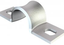 1044230 - OBO BETTERMANN Крепежная скоба (клипса) металл. двухлапковая 14мм (WN 7855 B 14).