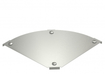 7138598 - OBO BETTERMANN Крышка угловой секции 90° 400мм (DFBM 90 400 V4A).