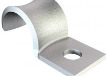 1043064 - OBO BETTERMANN Крепежная скоба (клипса) металл. однолапковая 4мм (WN 7855 A 4).