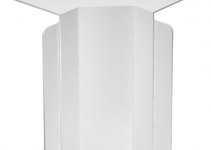 6192110 - OBO BETTERMANN Крышка внутреннего угла кабельного канала WDK 80x210 мм (ПВХ,белый) (WDK HI80210RW).