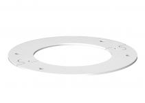 6290290 - OBO BETTERMANN Потолочная рамка для электромонтажной колонны (сталь,белый) (WAG140100RRW).