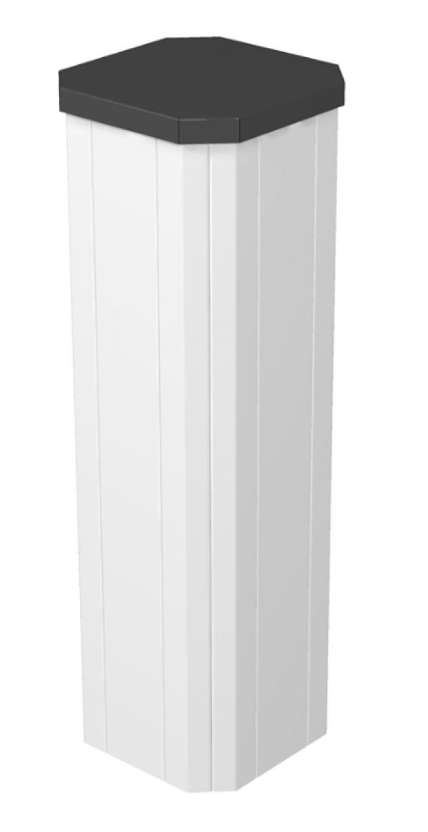 6286700 - OBO BETTERMANN Электромонтажная миниколонна 0,68 м 4-х сторонняя 210x210x680 мм (сталь,белый) (ISSHS4 61OT3RW).