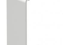 6193580 - OBO BETTERMANN Стыковая накладка кабельного канала WDK 40x90 мм (ПВХ,белый) (WDK HS40090RW).