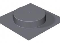 7404408 - OBO BETTERMANN Опалубка SK HB R305 (полистирол,черный) (SK HB R305).