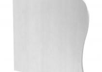 6115915 - OBO BETTERMANN Торцевая заглушка левая дизайнерского канала тип Swing (алюминий) (GAD EL Swing EL).