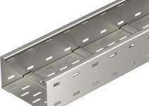 6098169 - OBO BETTERMANN Кабельный листовой лоток для больших расстояний 110x400x6000 (WKSG 140 VA 4301).