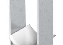 1183419 - OBO BETTERMANN U-образная скоба 22-28мм (2056 2 28 ALU).