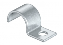 1009184 - OBO BETTERMANN Крепежная скоба (клипса) металл. однолапковая 15мм (1015 15 G).