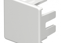 6183697 - OBO BETTERMANN Торцевая заглушка кабельного канала WDK 30x30 мм (ПВХ,светло-серый) (WDK HE30030LGR).