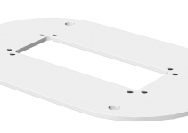 6290120 - OBO BETTERMANN Напольная пластина для электромонтажной колонны (сталь,белый) (ISSBP70140RW).