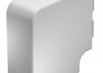 6161537 - OBO BETTERMANN Крышка плоского угла кабельного канала WDK 60x130 мм (ПВХ,кремовый) (WDK HF60130CW).