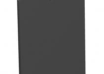 7408220 - OBO BETTERMANN Крышка глухая для напольного бокса Telitank 55x77 мм (ПВХ,черный) (T4B P01S 9011).