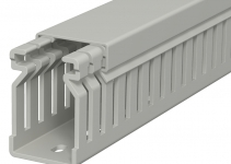 6178010 - OBO BETTERMANN Распределительный кабельный канал LK4 40x25x2000 мм (ПВХ,серый) (LK4 40025).