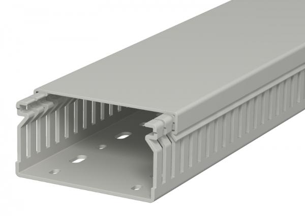 6178016 - OBO BETTERMANN Распределительный кабельный канал LK4 40x80x2000 мм (ПВХ,серый) (LK4 40080).