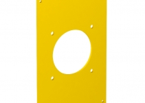 6109865 - OBO BETTERMANN Рамка для монтажа электроустановочных изделий блока питания VH 160x105 мм (желтый) (VHF-P3).