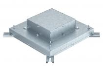 7399850 - OBO BETTERMANN Монтажное основание под заливку в бетон 440x440x135 мм (сталь) (IBD 35038 9).