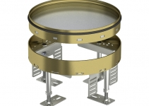 7409082 - OBO BETTERMANN Кассетная рамка RKR2 ном.размер 4 ø 215 мм (латунь) (RKR2 4M 20).