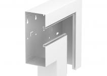 6278130 - OBO BETTERMANN Плоский угол кабельного канала Rapid 80 90x210 мм (сталь,белый) (GS-AFF90210RW).
