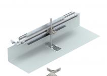 7423950 - OBO BETTERMANN Комплект для ответвления канала OKA-G/W 200 мм налево (сталь,40-150 мм) (OKA-G20040150FBL).