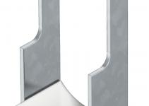 1180762 - OBO BETTERMANN U-образная скоба для углового профиля 70-76мм (2056W 76 FT).