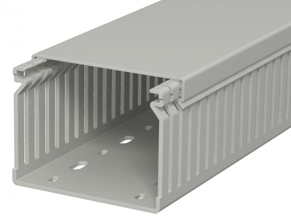 6178035 - OBO BETTERMANN Распределительный кабельный канал LK4 60x80x2000 мм (ПВХ,серый) (LK4 60080).