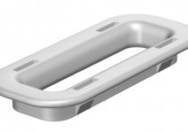 6066712 - OBO BETTERMANN Предохранительное кольцо для защиты кабеля (KSR-910 PE).