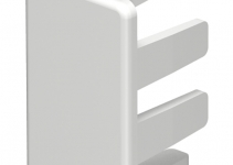 6158714 - OBO BETTERMANN Торцевая заглушка кабельного канала WDK 15x30 мм (ПВХ,серый) (WDK HE15030GR).