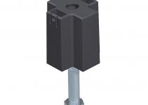 7424842 - OBO BETTERMANN Регулируемая по высоте опора (сталь) (NE DSU2 6050).
