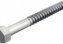 3188280 - OBO BETTERMANN Шуруп с шестигранной головкой  10x80мм (12400 10x80 G).