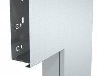 6248012 - OBO BETTERMANN Плоский угол с крышкой кабельного канала LKM 60x150 мм (сталь) (LKM F60150FS).