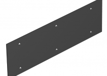 7408132 - OBO BETTERMANN Крышка глухая для напольного бокса Telitank 284x88 мм (ПВХ,черный) (T12L P04S 9011).