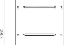 6232384 - OBO BETTERMANN Крышка с поворотным фиксатором 300x3000 (WKLD 2030 DD).