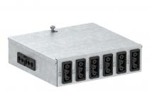 6108012 - OBO BETTERMANN Распределитель энергии UVS 160x150x48 мм (сталь) (UVS-6S2SA).