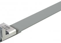 6490123 - OBO BETTERMANN Натяжная лента с фиксатором 450x17x1,0 (574 03 45 BA).