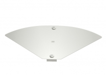 6040824 - OBO BETTERMANN Крышка для угловой секции кабельного листового лотка Magic 204x343 (DFBMV 200 VA4571).