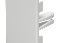 6162606 - OBO BETTERMANN Торцевая заглушка кабельного канала WDK 40x60 мм (ПВХ,кремовый) (WDK HE40060CW).