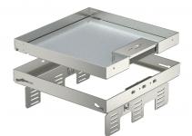 7409238 - OBO BETTERMANN Кассетная рамка RKSN2 UZD3 ном.размер 9 243x243 мм (сталь) (RKSN2 UZD3 9VS20).