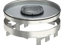 7409452 - OBO BETTERMANN Кассетная рамка RKFRN2 UZD3 ном.размер R9 ø 305 мм (сталь) (RKFRN2UZD3R9VS25).
