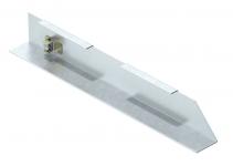 7404774 - OBO BETTERMANN Торцевая заглушка кабельного канала AIK правая (сталь) (AIK ESR 15040).