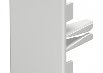 6021492 - OBO BETTERMANN Торцевая заглушка кабельного канала WDK 40x60 мм (ПВХ,серый) (WDK HE40060GR).
