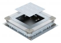7410087 - OBO BETTERMANN Монтажное основание UZD250-3 (h=70-125 мм) для GES9 (сталь) (UGD 250-3 9).
