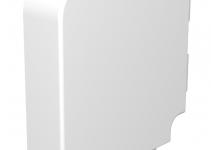 6024602 - OBO BETTERMANN Крышка плоского угла кабельного канала WDK 60x230 мм (ПВХ,серый) (WDK HF60230GR).